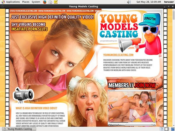 Casting Models Young Discount Link