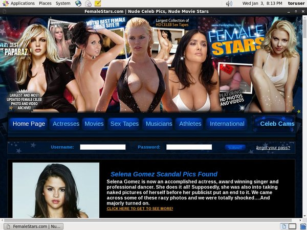 Female Stars Free Trial Deal