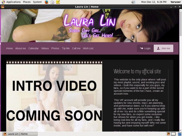 Laura Lin Discount On Membership