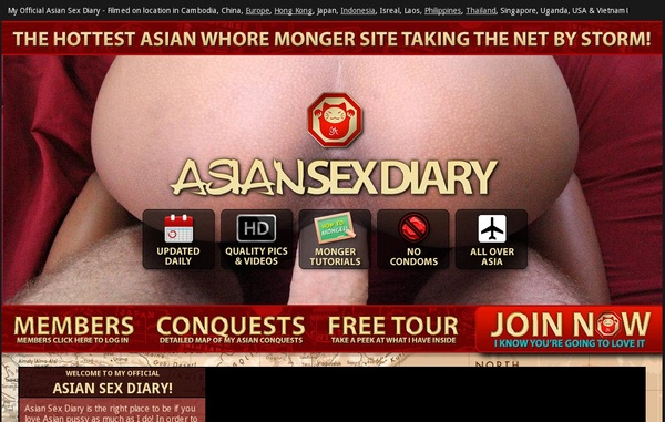 Make Asian Sex Diary Account