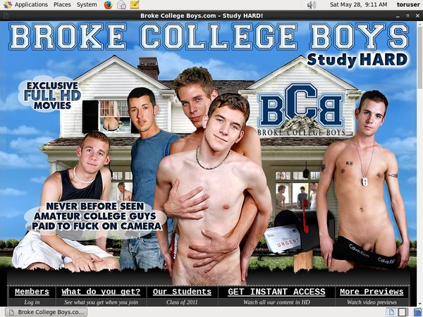 Sign Up Brokecollegeboys