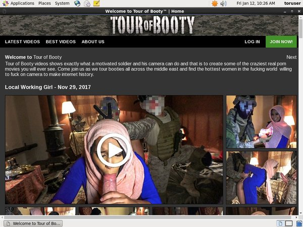 Try Tour Of Booty Free Trial