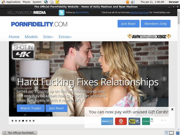 Pornfidelity.com Free Login Password