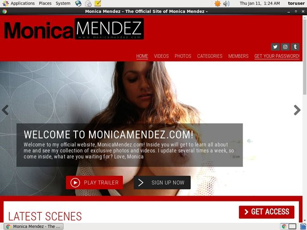 Monicamendez.com Sex Tube