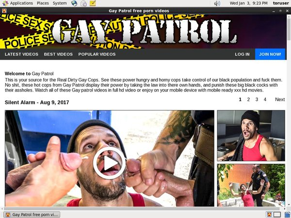 Gay Patrol Reduced Price