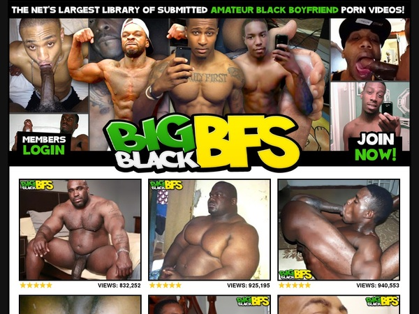 Big Black BFs Password Username
