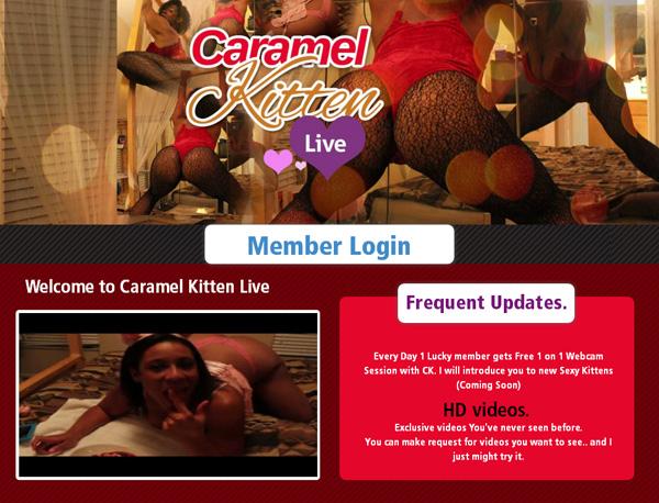 Free Caramel Kitten Live Porn Accounts